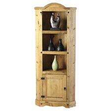 Providence Corner Display Cabinet in Pine