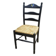 Maggie Rooster Side Chair in Antique Black