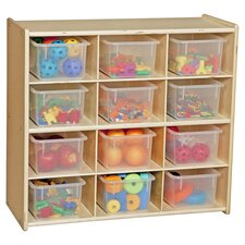 Contender Baltic 12 Compartment Cubby in Natural