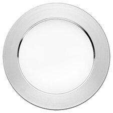 SarpanevaDinner Plate in Steel