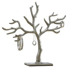 Kindwer Tree of Life Jewelry Stand in Silver