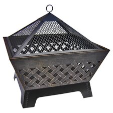 Barrone Fire Pit in Gray