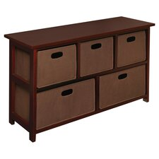 Knox Storage Unit in Cherry