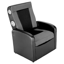 X-Rocker Storage Gaming Chair in Black & Grey