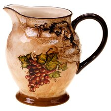 Tuscan View 2.75 Qt. Pitcher in Brown