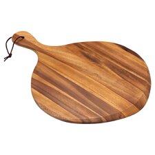 Acacia Fan Shaped Pizza Board in Brown