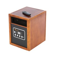 Energy Efficient Infrared Heater in Brown
