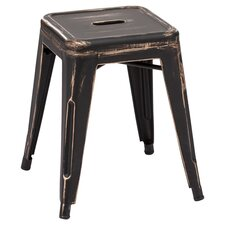 Madurai Stool in Black