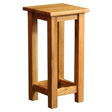 Essentials Square Side Table in Oak