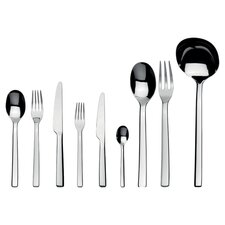 Ovale 75 Piece Flatware Set in Silver