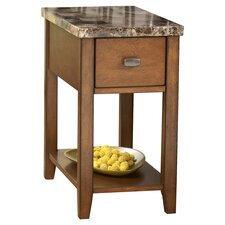 Thorndike Chairside Table in Brown