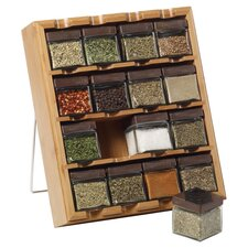 Bamboo Inspirations Spice Rack in Natural