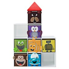 Robot & Friends Castle Bookcase