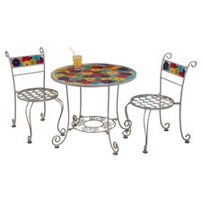 Kids' Flower Power 3 Piece Bistro Set