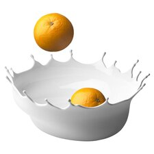 Römer Drop Fruit Bowl in Snow White