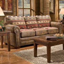 Sierra Lodge Sofa in Faded Brown