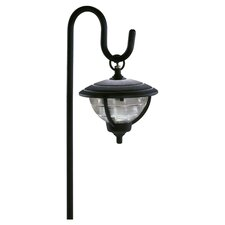 Palm Island Shepherd's Hook Landscape Garden Light in Black
