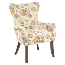 Dazzle Arm Chair in Cappuccino