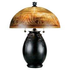 Glenhaven Table Lamp in Teco Rossa