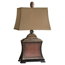 Pavia Table Lamp in Aged Red