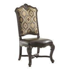 Florentino Marcella Side Chair in Brown