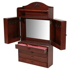 Kent Jewelry Armoire in Cherry