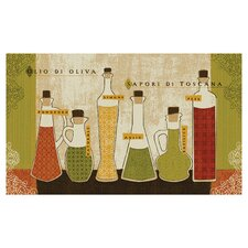 New Wave Kitchen Toscana Novelty Rug Set