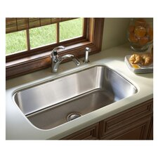 """McAllister 18"""" Undermount Kitchen Sink in Stainless Steel"""