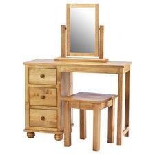 Belmont Dressing Table & Stool Set in Pine