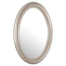 Deco Mirror Medicine Cabinet in Silver