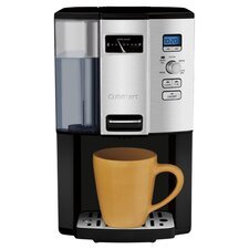 Coffee On Demand 12 Cup Coffee Maker in Black & Silver