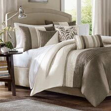 Amherst 7 Piece Comforter Set in Natural