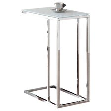Seana End Table in Chrome