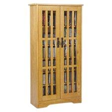 Glass Door Media Multimedia Cabinet
