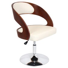 Pino Adjustable Arm Chair in Cherry
