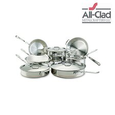 Copper Core 14 Piece Cookware Set