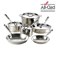 Copper Core 10 Piece Cookware Set
