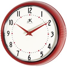 "9.5"" Retro Wall Clock II"