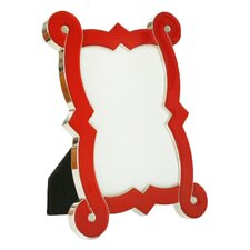 Enamel French Curve Picture Frame