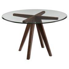 Kenzy Dining Table in Burnt Oak