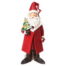 Santa Statuary Christmas Decoration