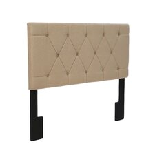 Upholstered Panel Headboard in Toffee