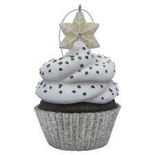 Snowflake Top Cupcake Christmas Tree Ornament
