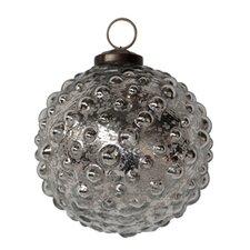 Mercury Glass Hobnail Ornament