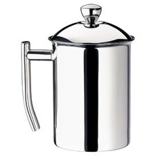 Milk Frother in Polished Stainless Steel