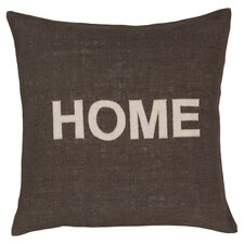 Hot Home Throw Pillow in Olive