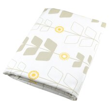 Stem Crib Sheet in White