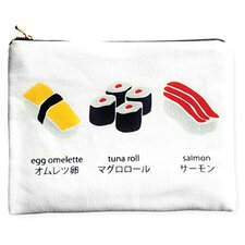 Naked Décor Sushi Amenity Bag in White