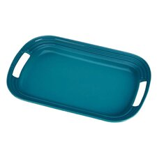Le Creuset Serving Tray in Caribbean