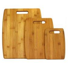 3 Piece Cutting Board Set in Natural